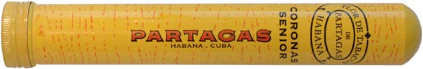 Partagas Coronas Senior Tubos