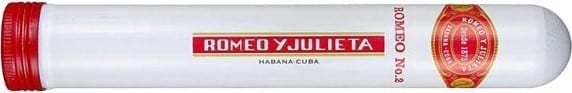 Romeo y Julieta No.2 Tubos